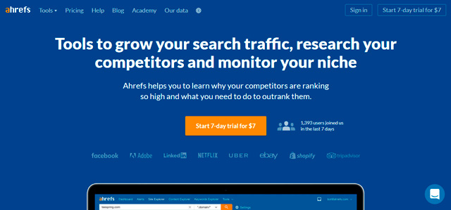 Local SEO Audit with ahrefs