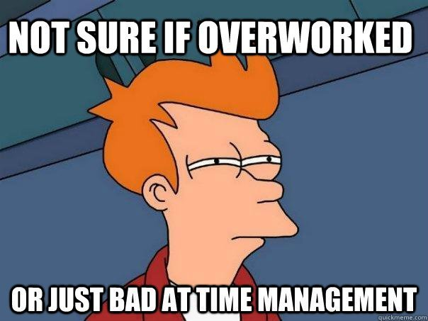 Time Management Meme