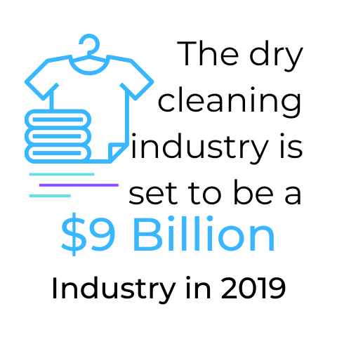 Dry cleaning industry is set to be a 9 billion industry